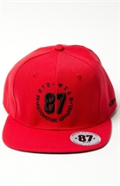 87 SNAPBACK CLASSIC RED UNISEX