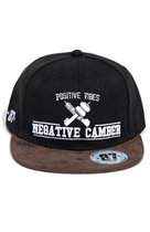 87 SNAPBACK NEGATIVE CAMBER BROWN/BLACK UNISEX