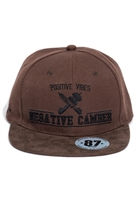 87 SNAPBACK NEGATIVE CAMBER BROWN/BROWN/BLACK UNISEX