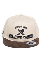 87 SNAPBACK NEGATIVE CAMBER BEIGE/BROWN UNISEX