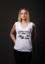 "87 GIRL´s T-SHIRT ""TT"" WHITE"