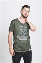"87 MEN´s T-SHIRT ""NEGATIVE CAMBER"" OLIVE"