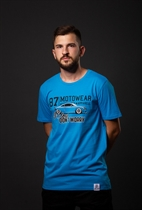 "87 MEN´s T-SHIRT ""TT"" BLUE"