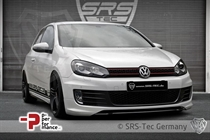 SRS-Tec Frontspoilerlippe ED35-Style GT, VW Golf 6
