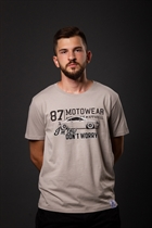 "87 MEN´s T-SHIRT ""TT"" GREY"