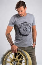 "87 MEN´s T-SHIRT ""LOW Enthusiasts"" GREY"