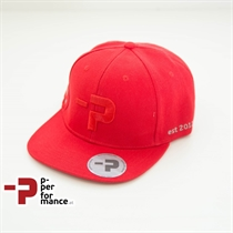 P-Moto Wear Basic Snapback rot