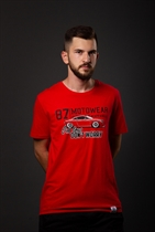 "87 MEN´s T-SHIRT ""TT"" RED"