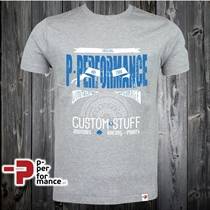 "P-Moto Wear ""WHEELS-STUFF"" Men´s T-Shirt"