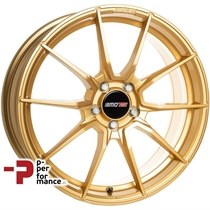 MOTEC Ultralight 8,0Jx19 ET48 5x112 66,5 GOLD