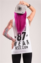 "87 GIRL´s T-SHIRT ""WSEE CREW"" WHITE"